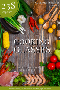 Customizable Design Templates for Cooking Class  PosterMyWall