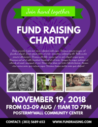 Fundraising Poster Templates  PosterMyWall