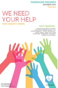 Customize 1 550 Fundraising Poster Templates PosterMyWall
