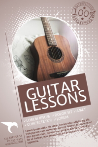 Customizable Design Templates for Music Lessons  PosterMyWall