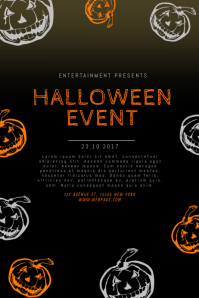 Halloween Flyer Templates  PosterMyWall