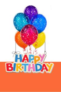22470 Customizable Design Templates for Happy Birthday