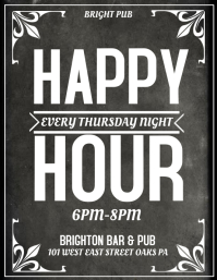 2580 Customizable Design Templates for Happy Hour  PosterMyWall