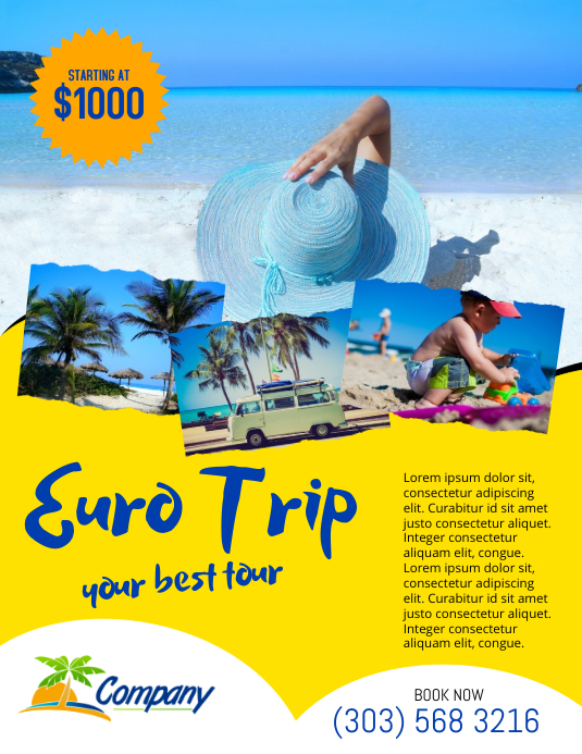 Copy Of Holiday Travel Flyer Template PosterMyWall
