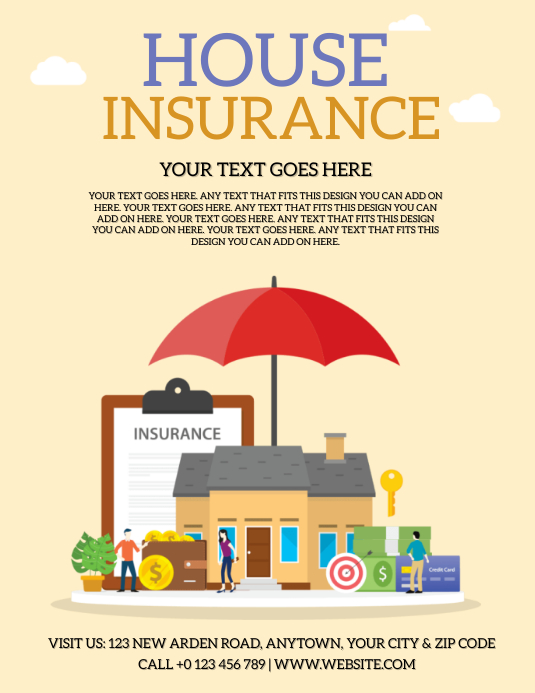 25/07/2021· download this free vector about home insurance template for poster, and discover more than 16 million professional graphic resources on freepik Brosur Templat Selebaran Asuransi Rumah Postermywall