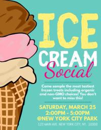 ice cream customizable design templates
