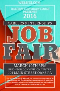 Copy of Job Fair | PosterMyWall