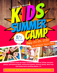 290 Customizable Design Templates For Summer Camp Flyer