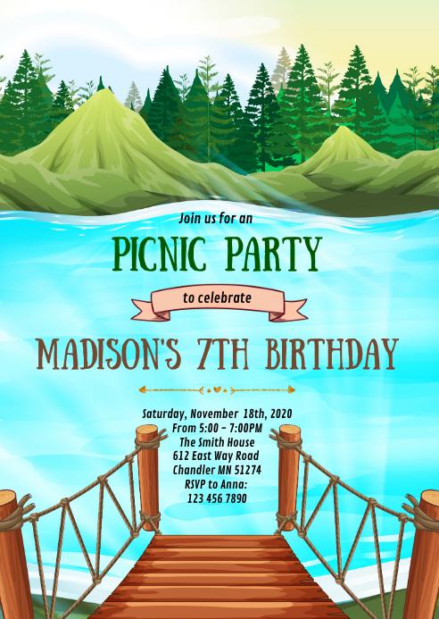 see picknick geburtstagsfeier