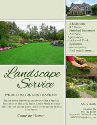 lawn service flyer templates