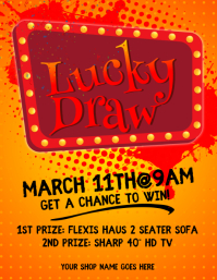 Customizable Design Templates for Lucky Draw  PosterMyWall