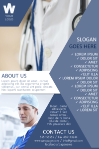190 Customizable Design Templates for Medical Flyer