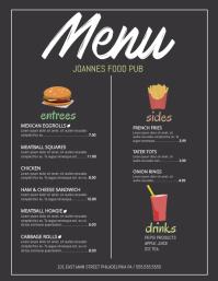 menu flyer template - Cypru.hamsaa.co