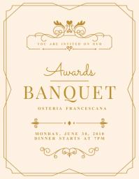 banquet invitations free downloads