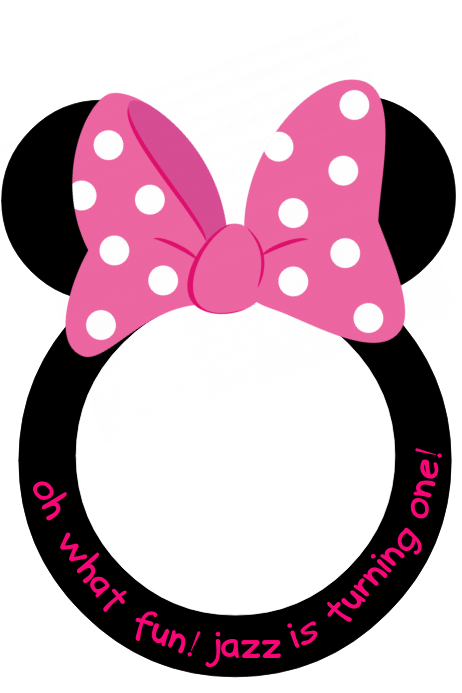 photo relating to Minnie Mouse Photo Booth Props Printable named minnie mouse picture frames
