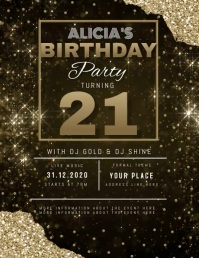 11 930 modern birthday invitations