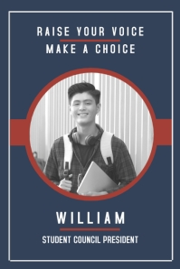 modern high school election campaign
