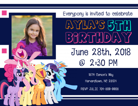 jojo siwa birthday invitation template