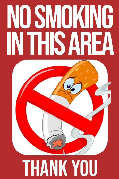 rauchverbot plakat vorlage postermywall