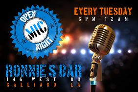 140 Customizable Design Templates for Open Mic Night  PosterMyWall