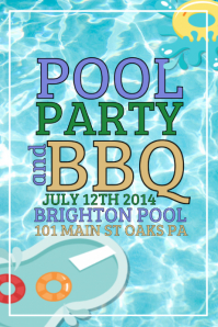 21480 Customizable Design Templates for Pool Party  PosterMyWall