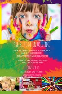 Copy of Preschool Enrollment Poster Template | PosterMyWall