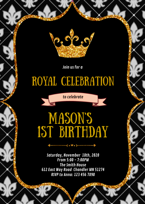 prince first birthday birthday