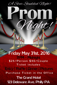 20720 Customizable Design Templates for Prom Party  PosterMyWall