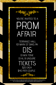 120 Customizable Design Templates for Prom  PosterMyWall