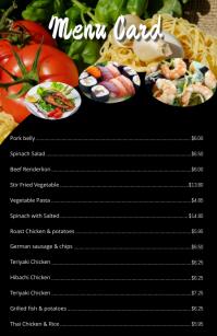 Customizable Design Templates for Restaurant Menu  PosterMyWall