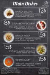 Design Restaurant Menus With Free Templates! PosterMyWall
