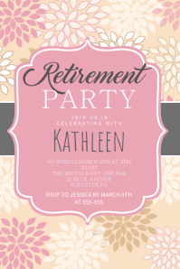 free retirement flyer template