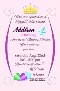 create beautiful birthday invitations