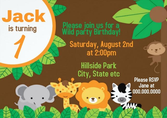 safari party birthday invitation 03
