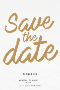 900 save the date