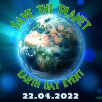 240 Save Earth Customizable Design Templates Postermywall
