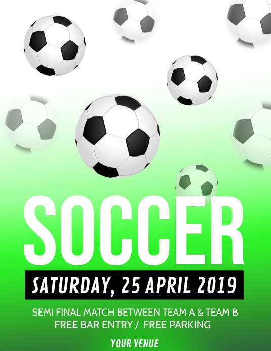 Gambar Tentang Sepak Bola : gambar, tentang, sepak, Soccer, Flyer,Soccer, Poster,, Match, Poster,Soccer, Template, PosterMyWall
