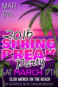 Customize 350 Spring Break Poster Templates PosterMyWall