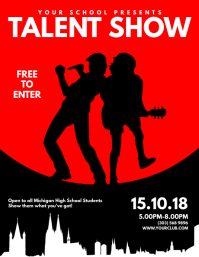 Customizable Design Templates for Talent Show  PosterMyWall