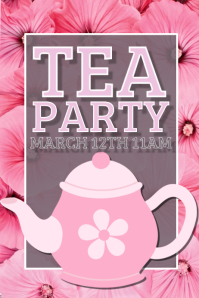 21450 Customizable Design Templates for Tea Party  PosterMyWall