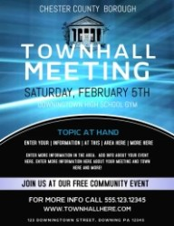 710+ Townhall Meeting Customizable Design Templates PosterMyWall