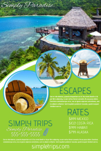 1890 Customizable Design Templates for Travel Agency