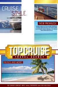 Customizable Design Templates For Cruise PosterMyWall