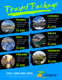 1470 Customizable Design Templates for Travel Agency  PosterMyWall