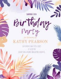 10 770 13th birthday invitations free