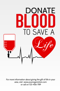 280 Customizable Design Templates for Blood Donation  PosterMyWall