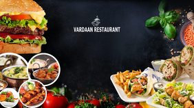 Restaurant YouTube Thumbnail Templates  PosterMyWall
