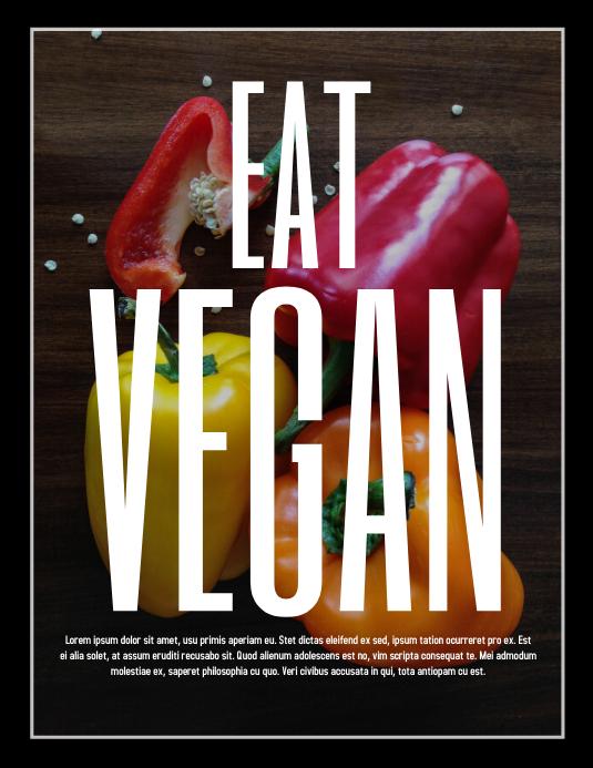 Vegan Template  PosterMyWall