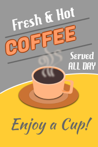 400 Customizable Design Templates for Coffee  PosterMyWall