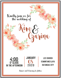 create high quality wedding posters